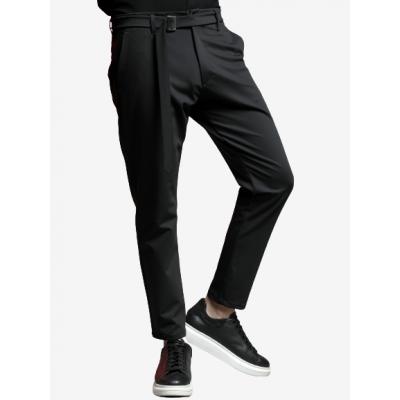 MACAN 210-580 MARINO NERO Ανδρικό παντελόνι